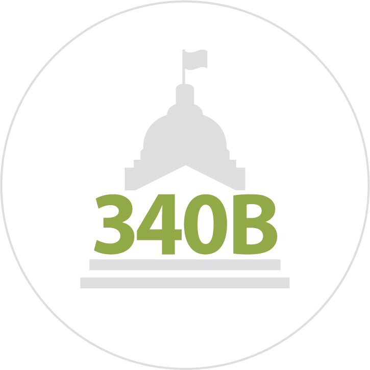 Icon for 340B Program Management