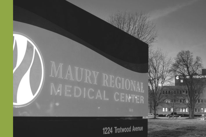 Maury Biz Partner PR Green Line - Sentry Data Systems' VP named Business Partner of the Year by Maury Regional Health