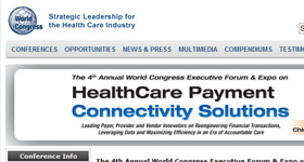 Sentry Executive Speaking at Forum on HealthCare Payment Connectivity Solutions
